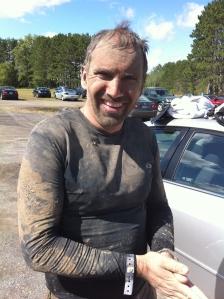 He's a dirty boy_