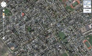 Napa satellite view